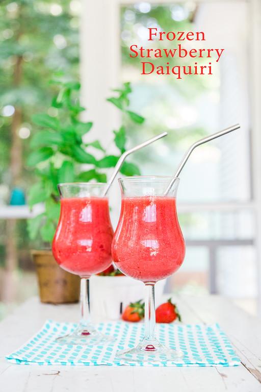 The best Frozen Strawberry Daiquiri