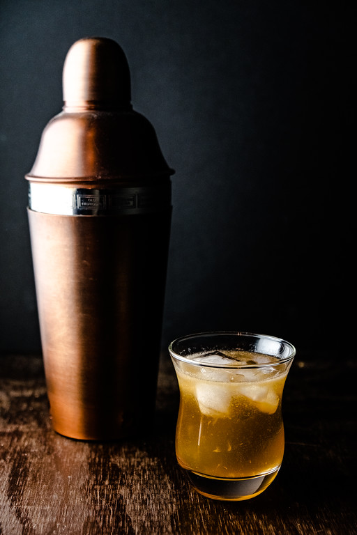 Horse Feathers Cocktail - whiskey, ginger ale and bitters