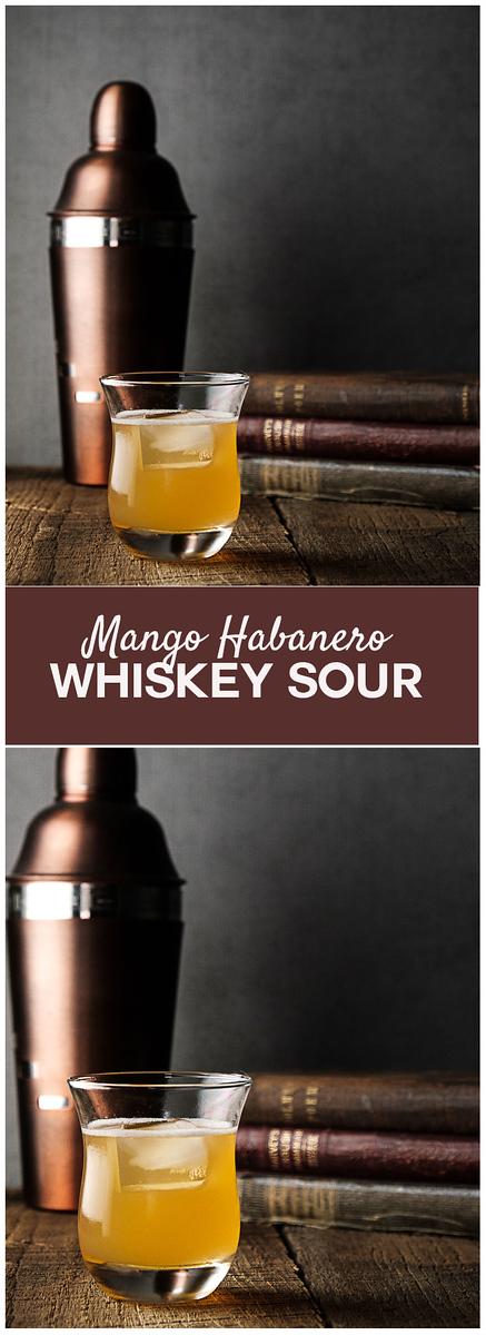 Mango Habanero Whiskey Sour