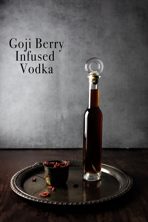 Goji Berry Infused Vodka