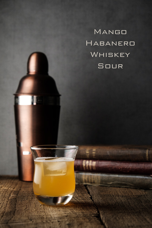 Mango Habanero Whiskey Sour