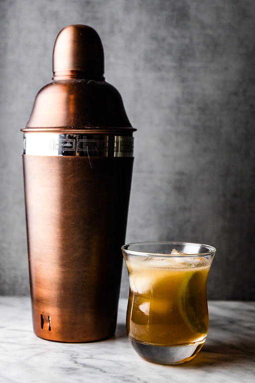The Horse Feathers Cocktail - ginger ale, whiskey, and bitters