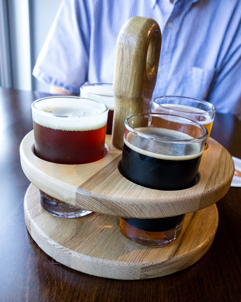 Six Mile Bridge Beer Flight