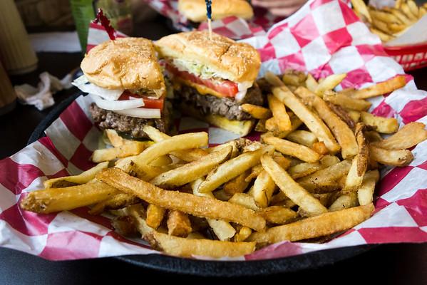 Merv's Burgers - burger and fries