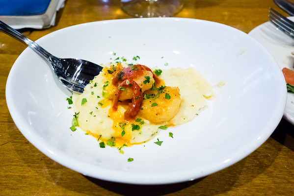 Shrimp and Grits | Tupelo Honey Cafe | Chattanooga