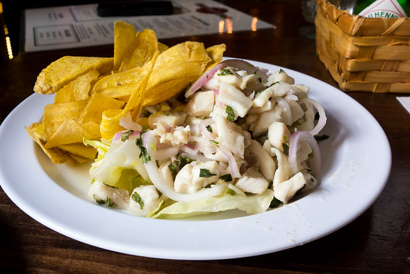 Ceviche from Embargo 62