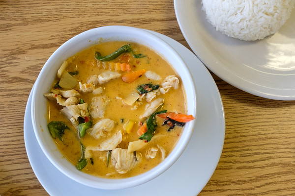 Red curry at Thai Esan