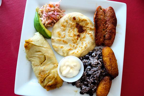 Salvadorian Bandeja - Tamales from Conga Latin in Chattanooga