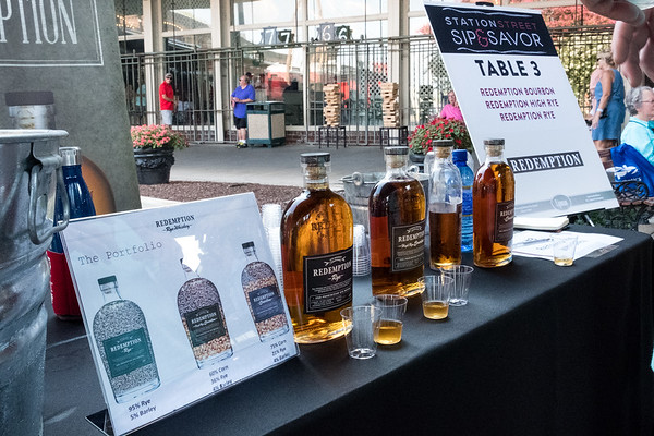 Redemption Whiskey at Station Street Sip & Savor