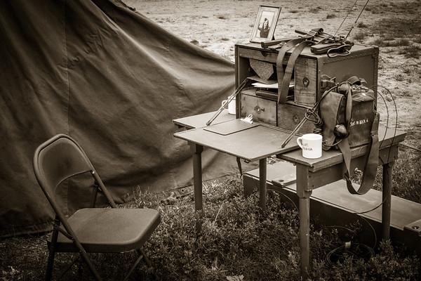 The C.O.'s Desk