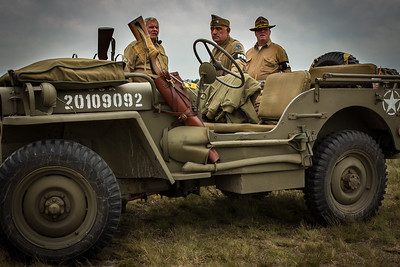 WWII Jeep and MPs