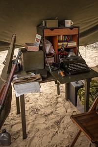 WWII Correspondent's Desk