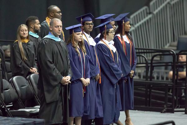 Graduation Ceremony and Family