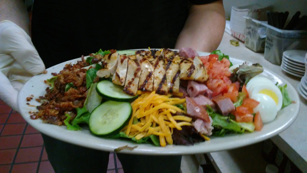 . The cobb salad at Mean Mugs Pub in Mentor. (Betsy Scott - The News-Herald)