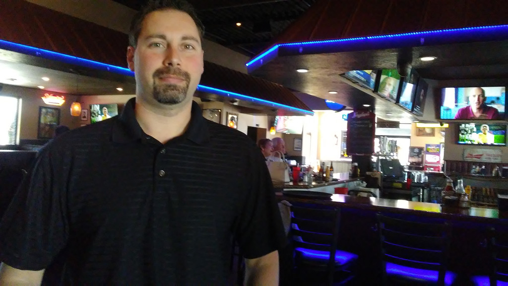 . Dave Klein of Seven Hills recently opened Mean Mugs Pub in the former Pacers location on Route 20 in Mentor. (Betsy Scott - The News-Herald)