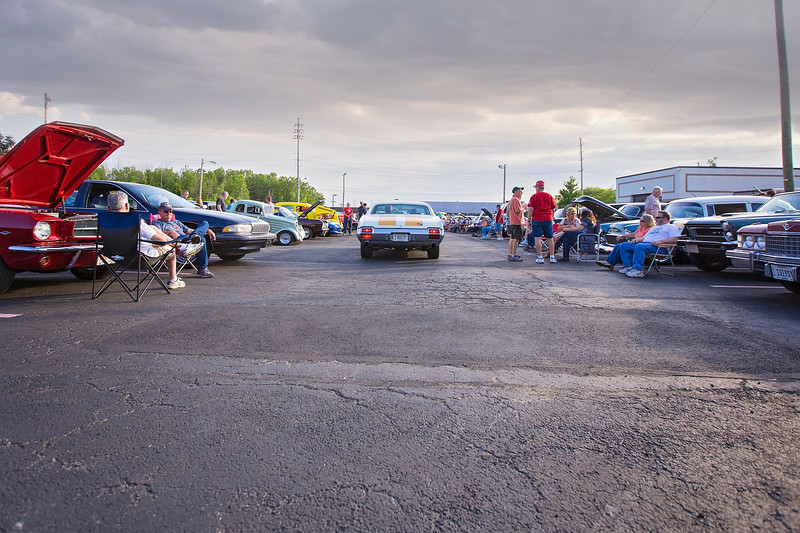 Annabelle's Diner in Mentor attracts a wide variety of vintage vehicles to its Saturday night car cruises - in place since it moved to Mentor in 1985. (Carrie Garland - The News-Herald)