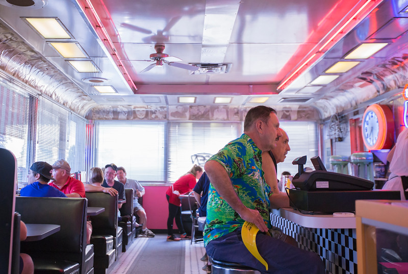 A former Kenny Kings trailer was adapted for Annabelle's Diner in the mid-'80s. (Carrie Garland -  The News-Herald)