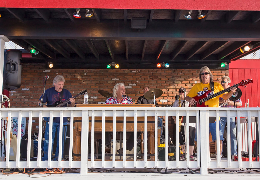 . The music is among the big draws to the car cruise-ins held each Saturday evening at Annabelle\'s Diner. (Carrie Garland - The News-Herald)