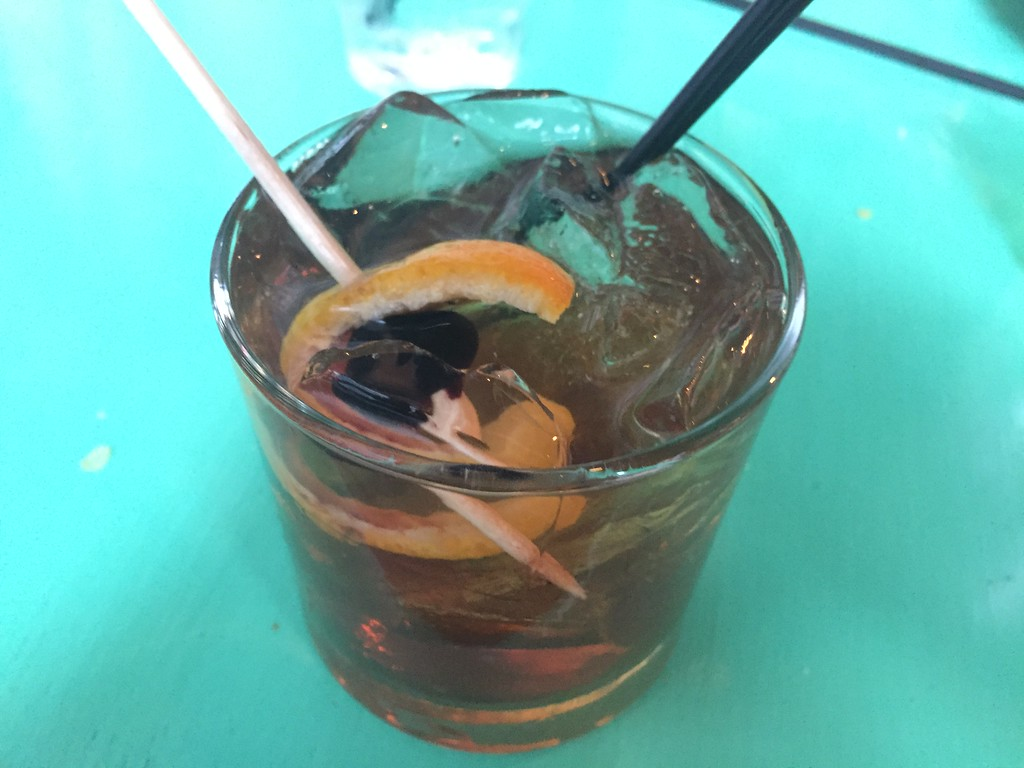 . Mark Meszoros -- The News-Herald The Loco Fashioned is Barrio\'s take on an old fashioned.