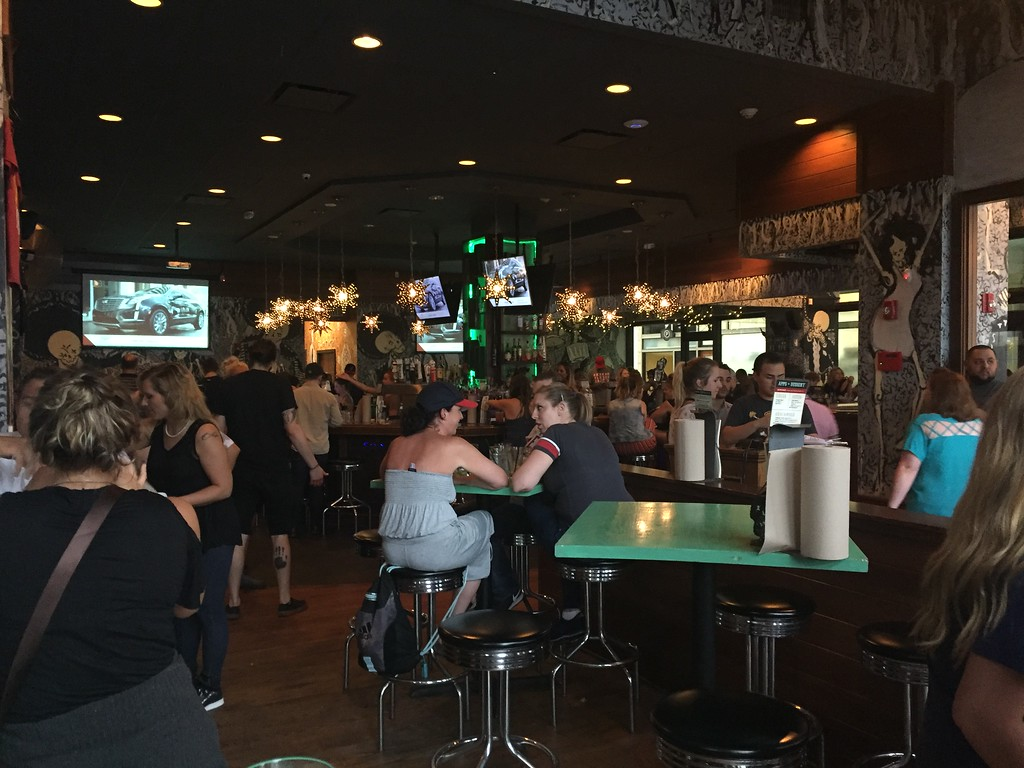 . Mark Meszoros -- The News-Herald The Barrio in downtown Cleveland was pretty full before an Indians game on a Friday night in late June.