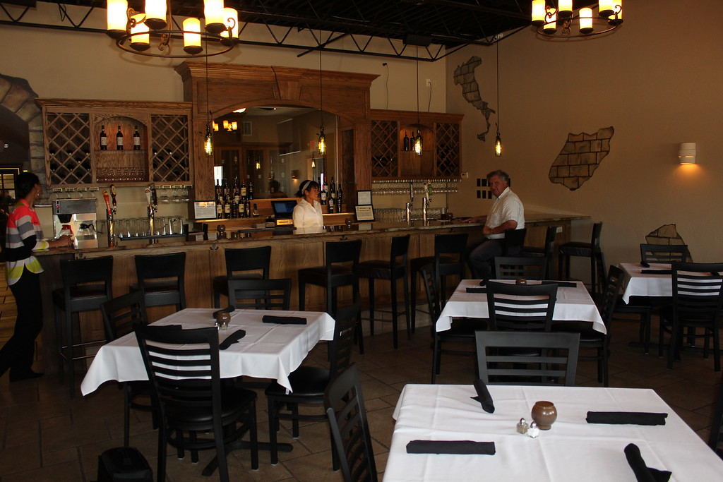 . The inside of Casa Di Vino Winery and Restaurant in Wickliffe. (Tawana Roberts�The News-Herald)