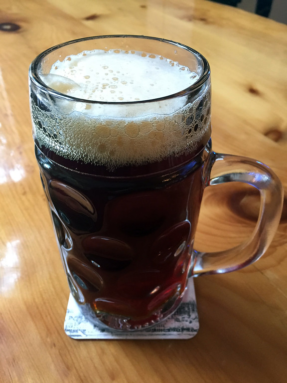 . Mark Meszoros -- The News-Herald This is a tall mug of Hansanator Dopplebock, one of several beers made crafted at Hansa Brewery.