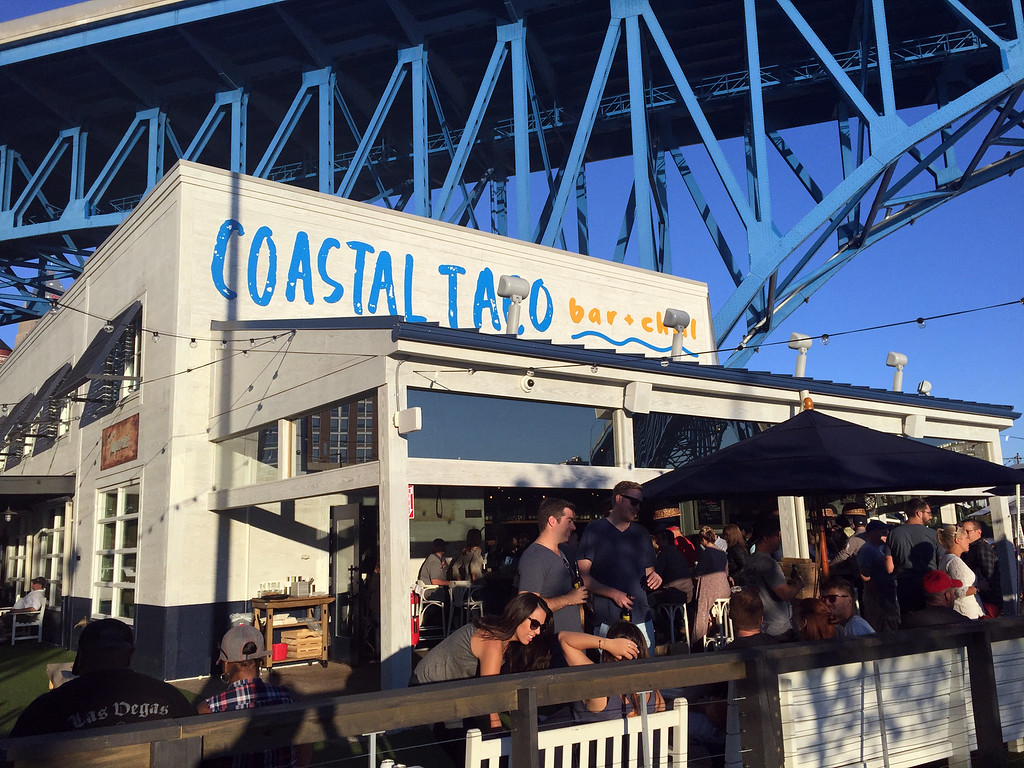 . Mark Meszoros -- The News-Herald Coastal Taco is hopping on a Saturday night in late summer.