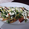 Mark Meszoros -- The News-Herald<br /> Sarita's Lobster Nachos are loaded with goodies.