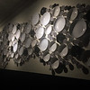Mark Meszoros -- The News-Herald<br /> On one of the walls at Sarita hangs this decoration made up of plates and cups.