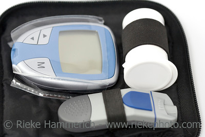 diabetes equipment - in a small case - adobe RGB