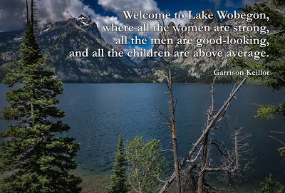 Welcome To Lake Wobegon