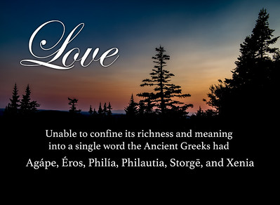 Ancient Greek Words for Love