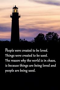 People Were Created To Be Loved