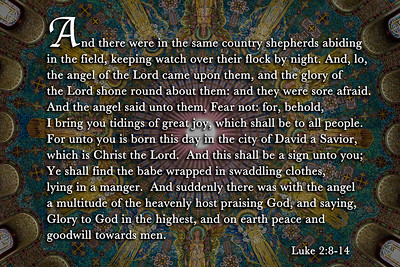 Luke 2:8-14 & Byzantine Mosaic Dome