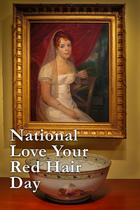 National Love Your Red Hair Day