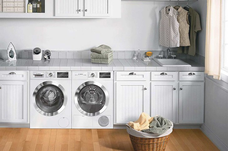 Unique NYC Living: How We Installed a Washer Dryer In the Kitchen MM85