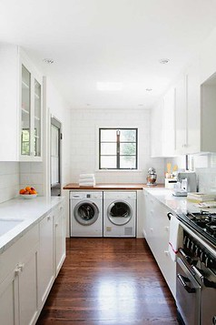 Laundry In Kitchen Examples