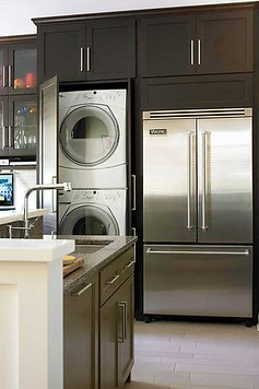 How We Installed A Washer Dryer In The Kitchen Nyc Apartment