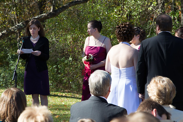 Wedding of Sarah Kate and James Mackey (October 10, 2010)