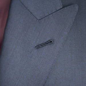 Christopher Luk 2014 - Lifestyle Knot Standard Madison Navy Custom Made to Measure Suit Milanese Boutonniere 002 PS Square