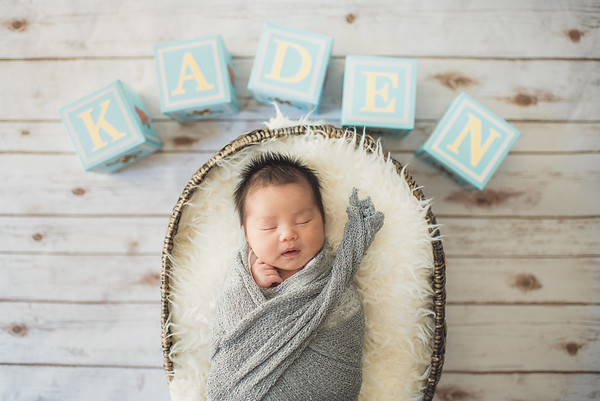 Little Kaden // Newborn