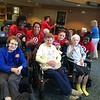 Target at a Senior Center