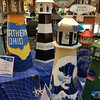 "These lighthouses will be auctioned during a fundraiser to benefit United Way of Lake County and Lake Health Foundation. The event is Aug. 10 at Perry Community Center. For more information, visit  <a href=""http://www.facebook.com/LightingtheWayLakeCounty"">http://www.facebook.com/LightingtheWayLakeCounty</a>. (Cheryl Sadler - The News-Herald)"
