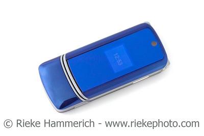 blue mobile phone - modern style - adobe RGB