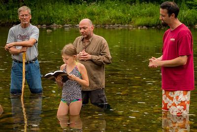 River Baptism at Indian Hollow