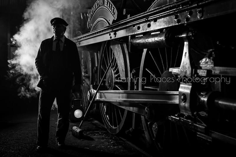 Steam Engine Portrait