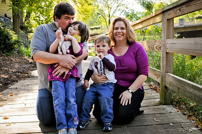 Family Session :: Gahanna Creekside