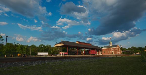 White River Junction's Train Station
