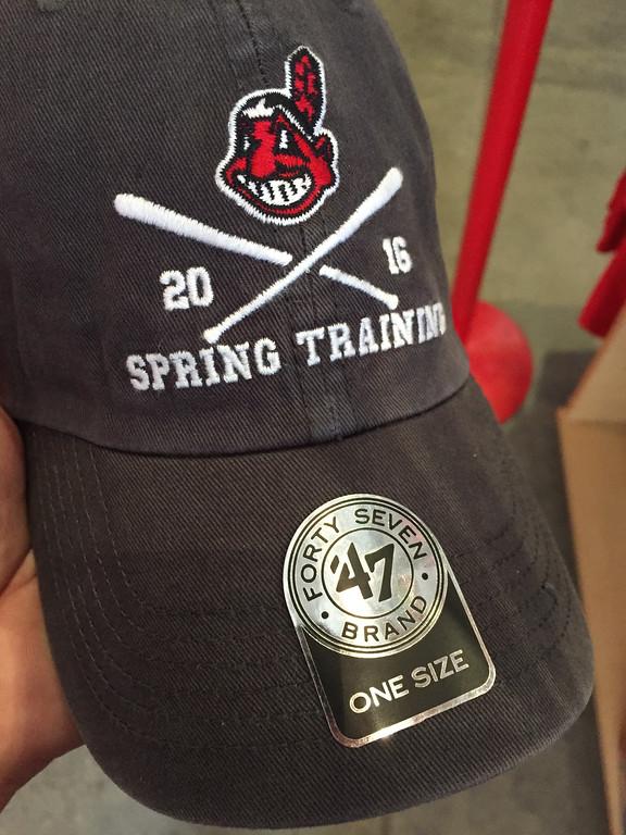 . Mark Meszoros -- The News-Herald This cap made a nice keepsake from a baseball-centric trip to Arizona.