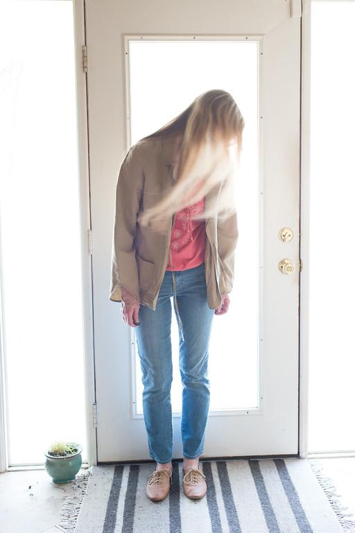 J Jill linen jacket